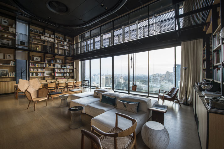 1-N-B-K-Residence-Beirut-Lebanon-living-space-angle2