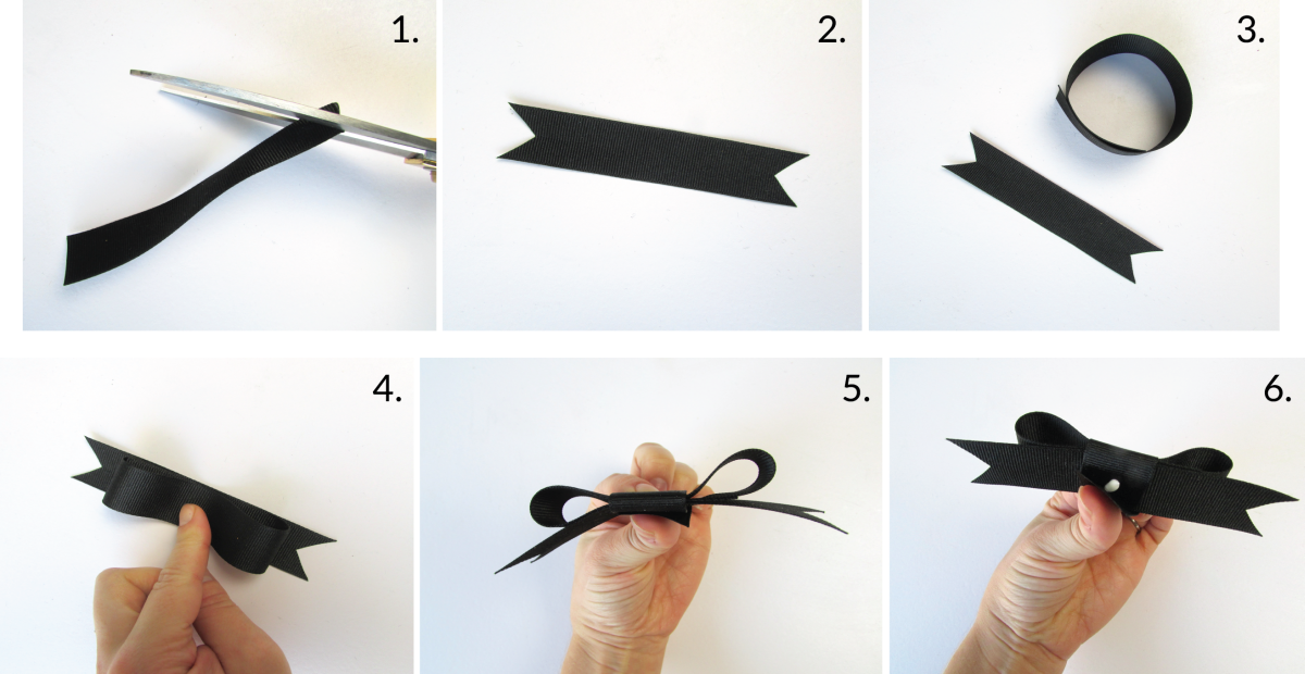 3 beautiful ways to tie a bow with ribbon bowtie topper ccuart