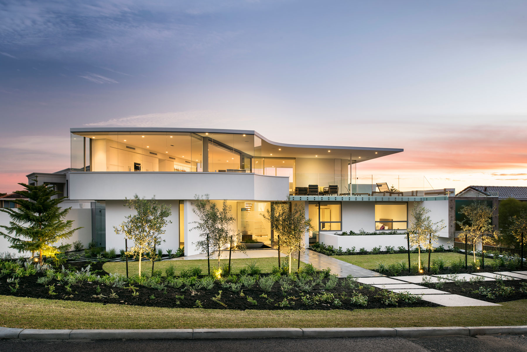 Australian residence merges exquisite design and for Amazing house designs australia