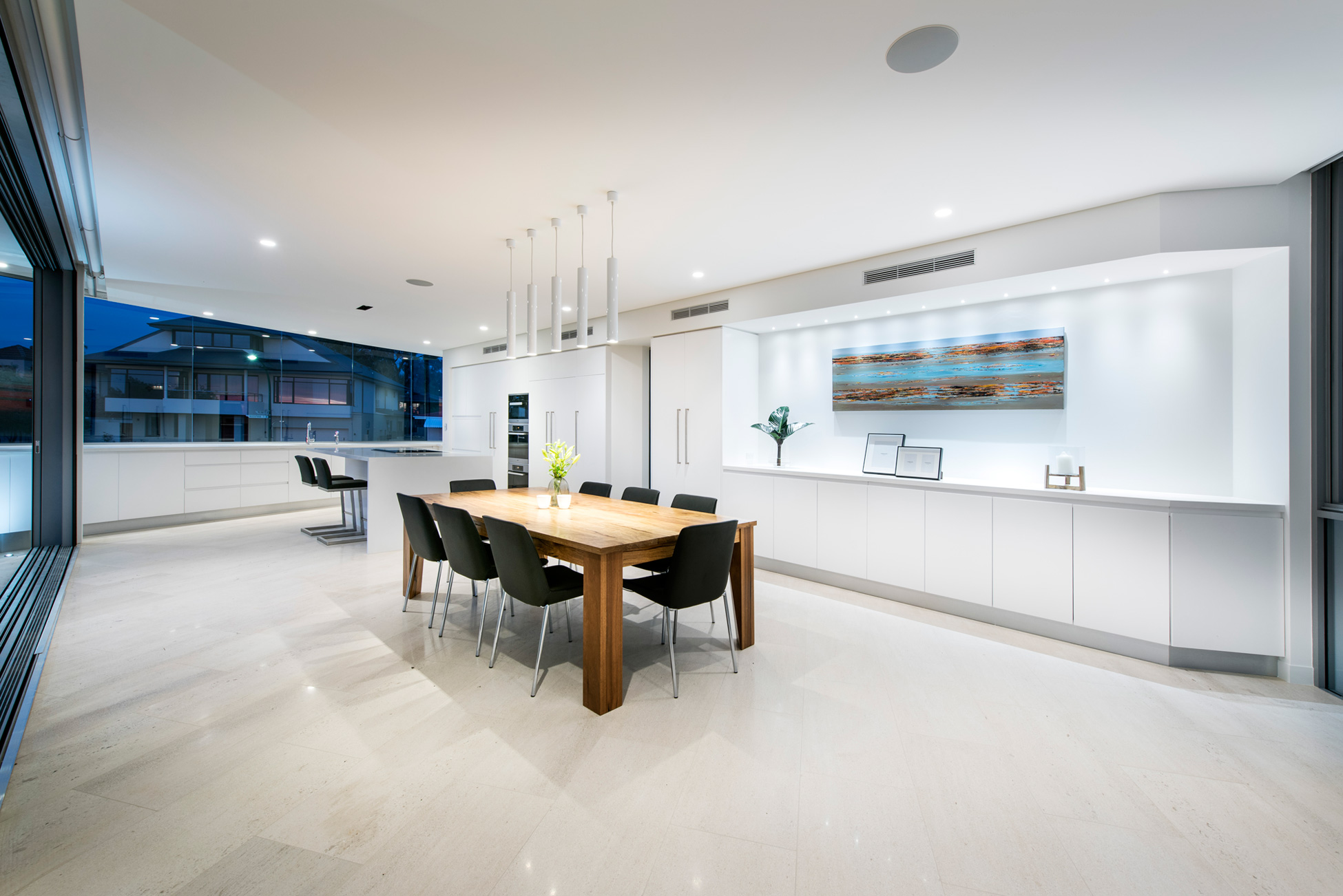 Australian residence merges exquisite design and - 10x10 kitchen designs with island ...