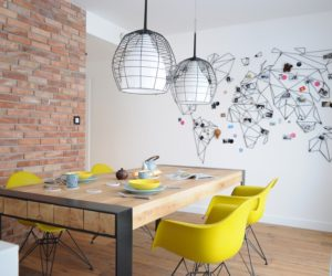 Apartment Gets A Colorful Makeover For Its Adventurous Owners