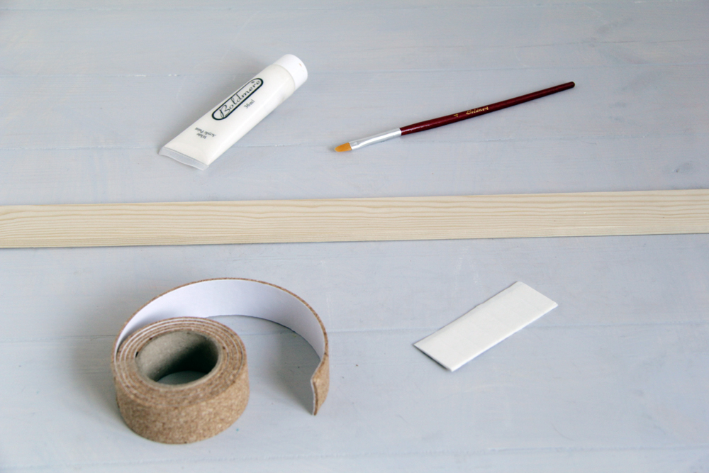 DIY Cork Strip Materials