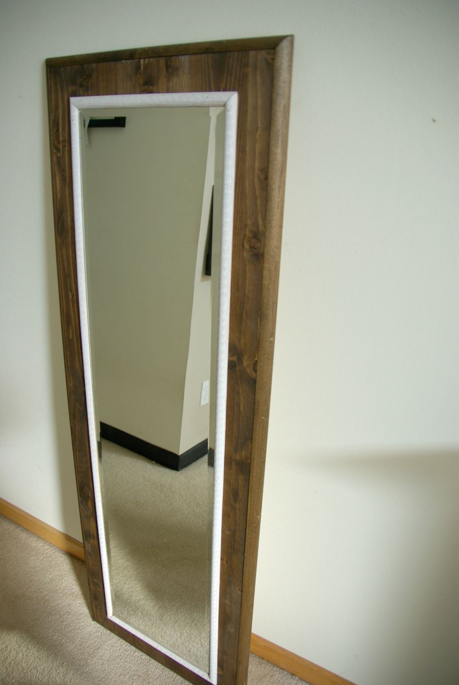 Diy floor mirror frame amipublicfo Choice Image