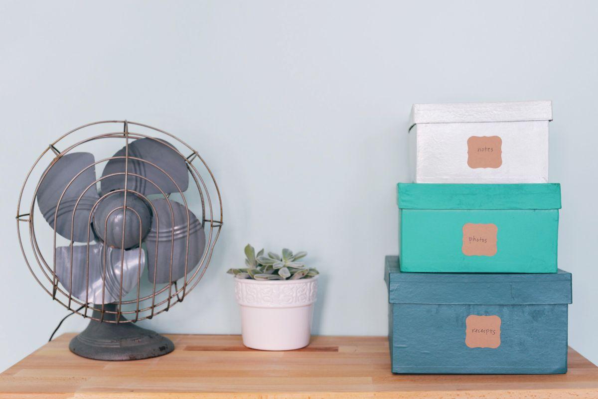 DIY Embellished Stacking Storage Boxes Nice Design