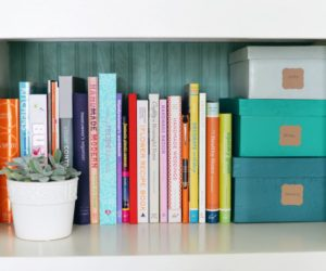 DIY Embellished Stacking Storage Boxes