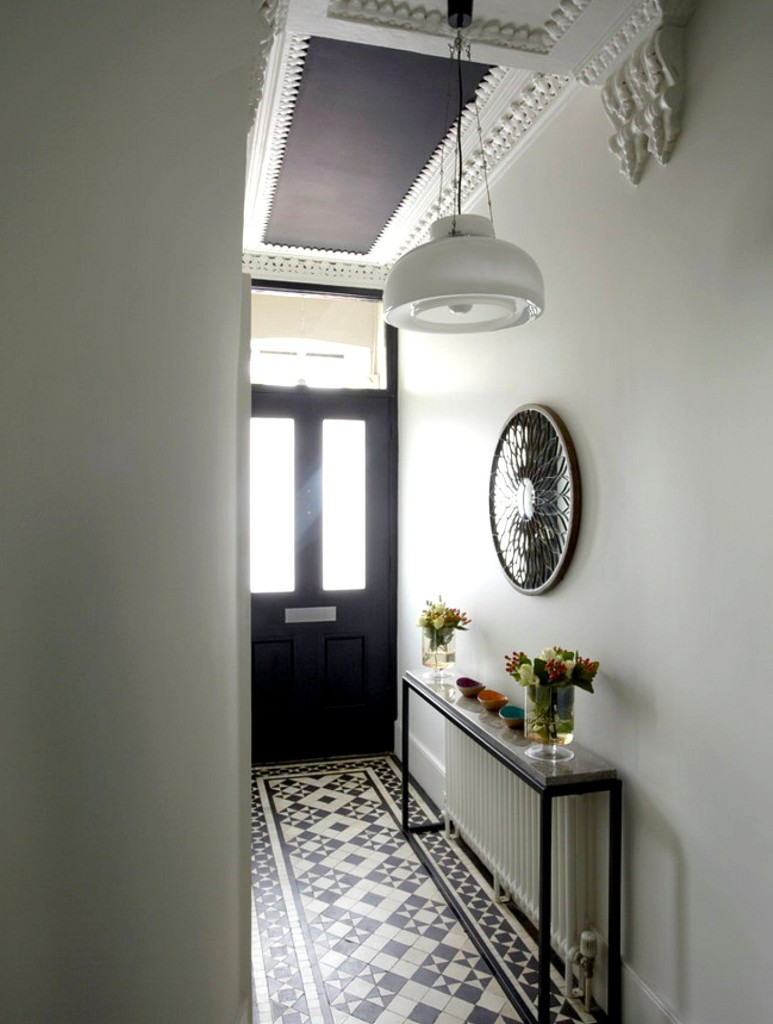 Entryway geometric patterns