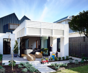 Suburb Cottage Home Expanded Into A Fresh Family Residence