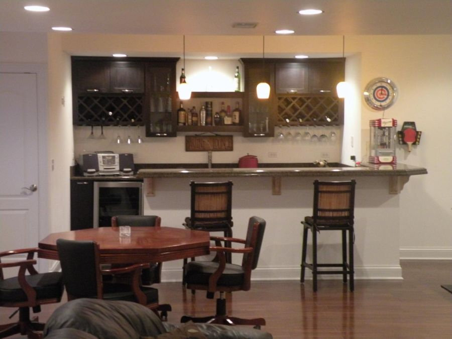 Modern Basement Wet Bar. Home Decorating Trends  Homedit Spice Up Your Basement Bar 17 Ideas for a Beautiful Space