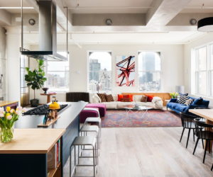 Dynamic Soho Loft With Industrial And Architectural Flair