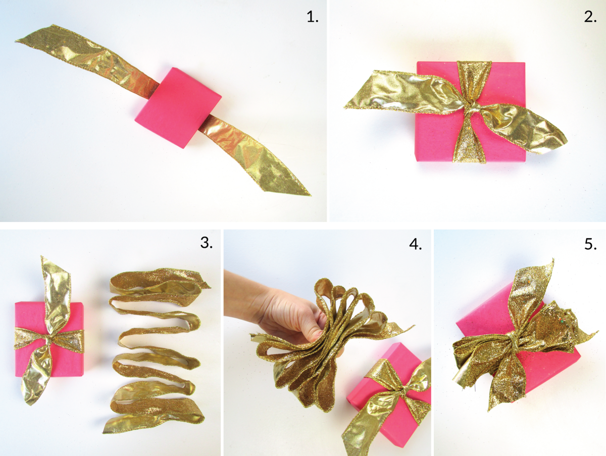 Uncategorized Tying Ribbon 3 beautiful ways to tie a bow with ribbon wired poufy bow