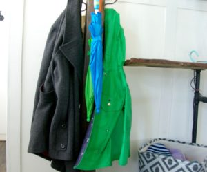 DIY Wood Coat Rack