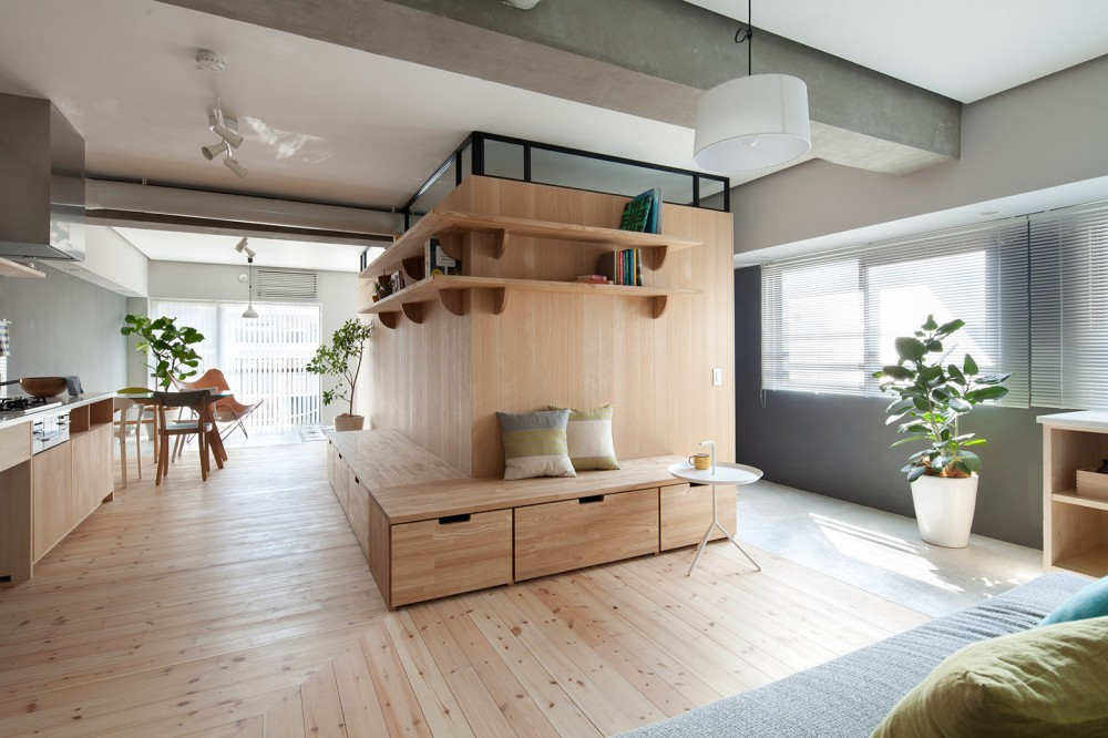 Great Small Apartment Gets An Efficient L Shaped Makeover