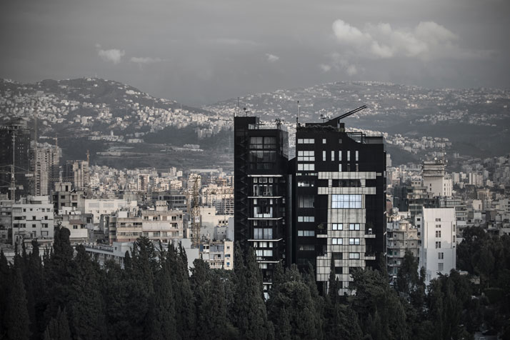 a-N-B-K-Residence-Beirut-Lebanon-view-from-distance