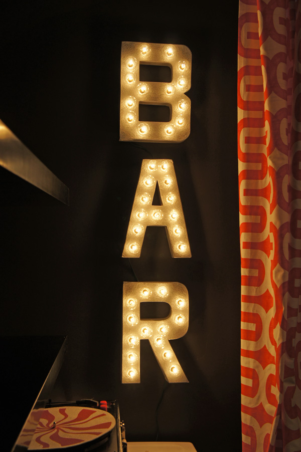 diy basement bar. Custom Lighted Sign  Clever Basement Bar Ideas Making Your Shine