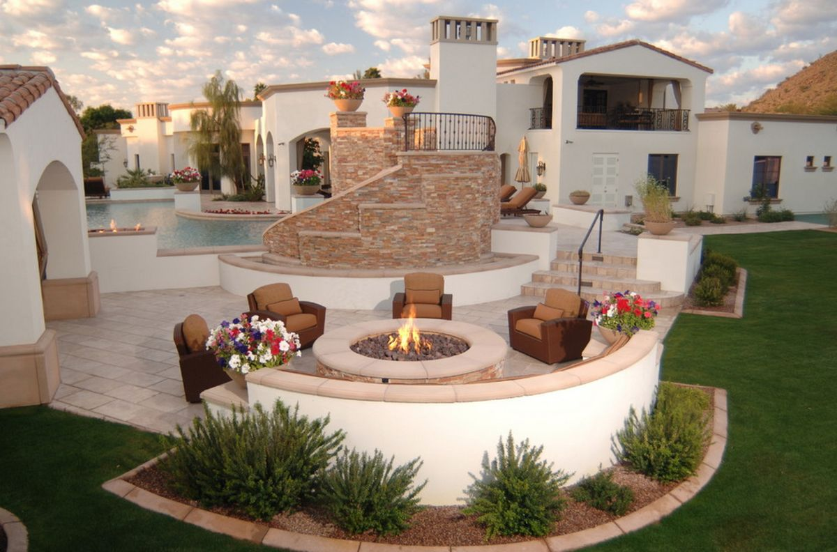 10 Beautiful u0026 Inspiring Outdoor Firepits Beautiful