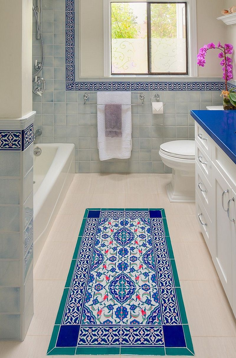 30 floor tile designs for every corner of your home 4 mediterranean accent dailygadgetfo Gallery