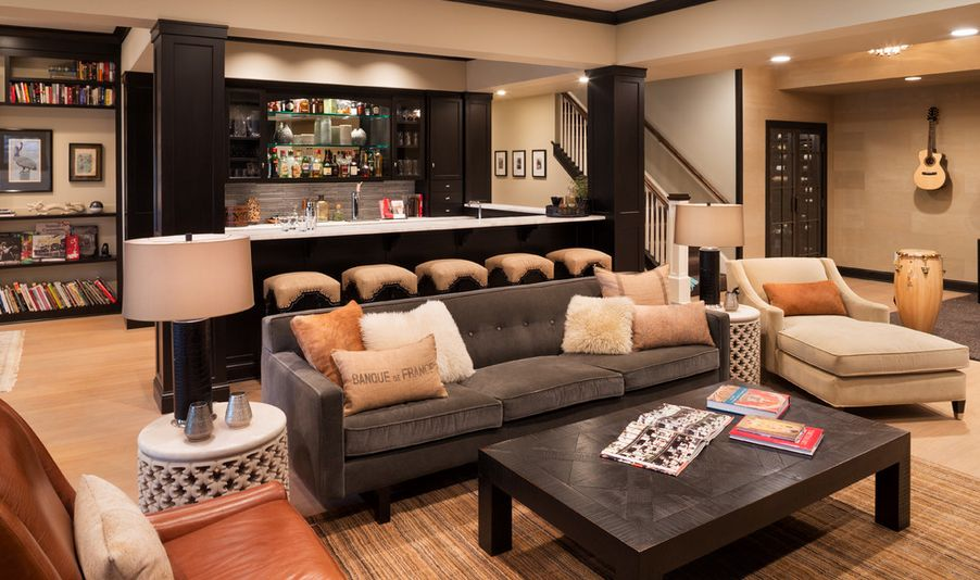 Spice Up Your Basement Bar 48 Ideas For A Beautiful Bar Space Awesome Basement Bars Designs