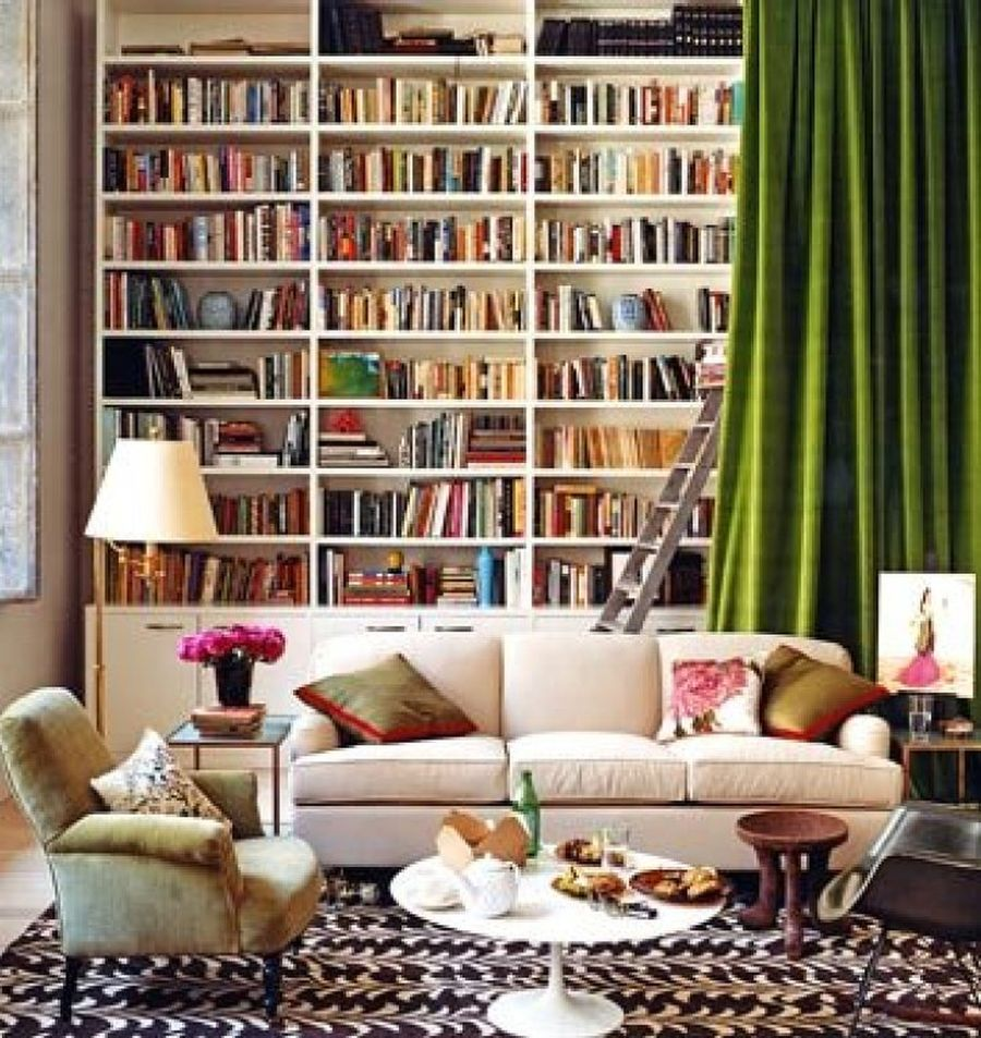 Pictures Of Home Libraries creating a home library that's smart and pretty
