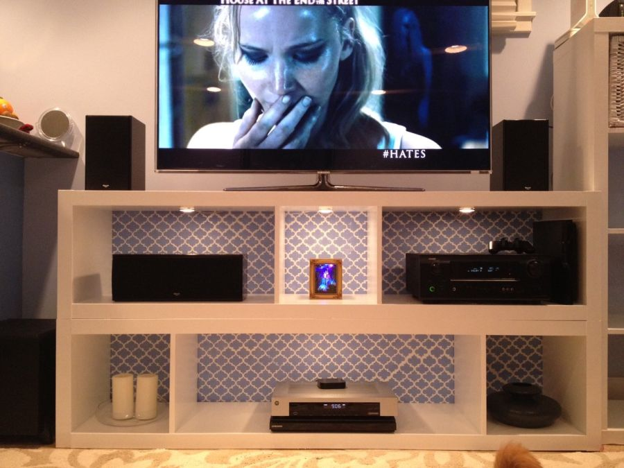Wonderful IKEA TV Stand Designs You Can Build Yourself DQ13