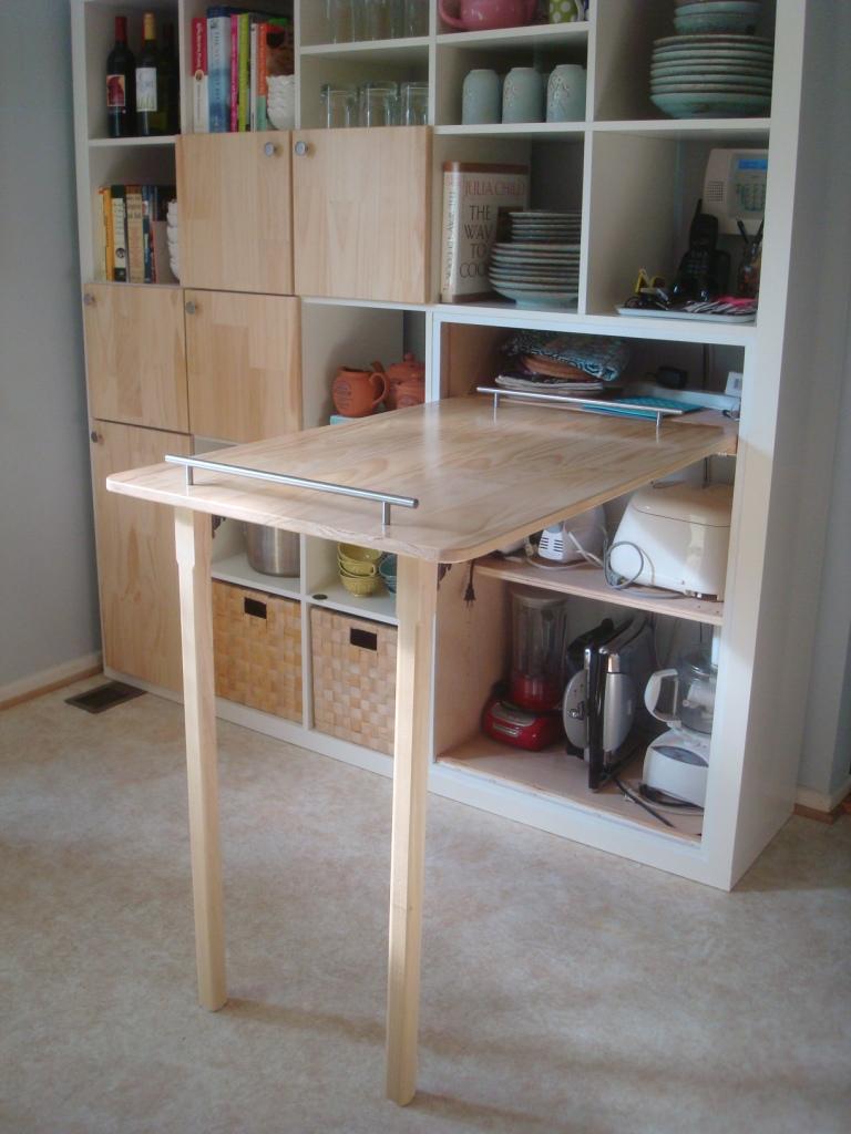 Foldable Small Kitchen Countertop