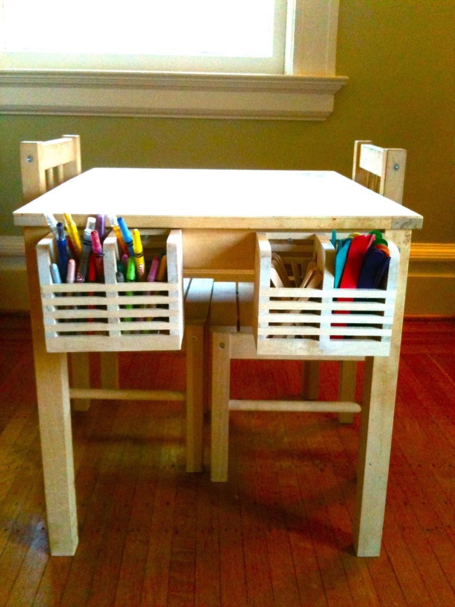 Playful ikea kids 39 table designs and ways to improve them for Table qui s agrandit ikea