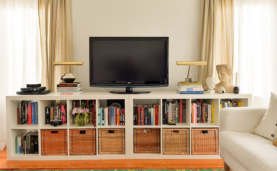 Ikea tv stand designs you can build yourself - Creative uses of floating shelves ikea for stylish storage units ...