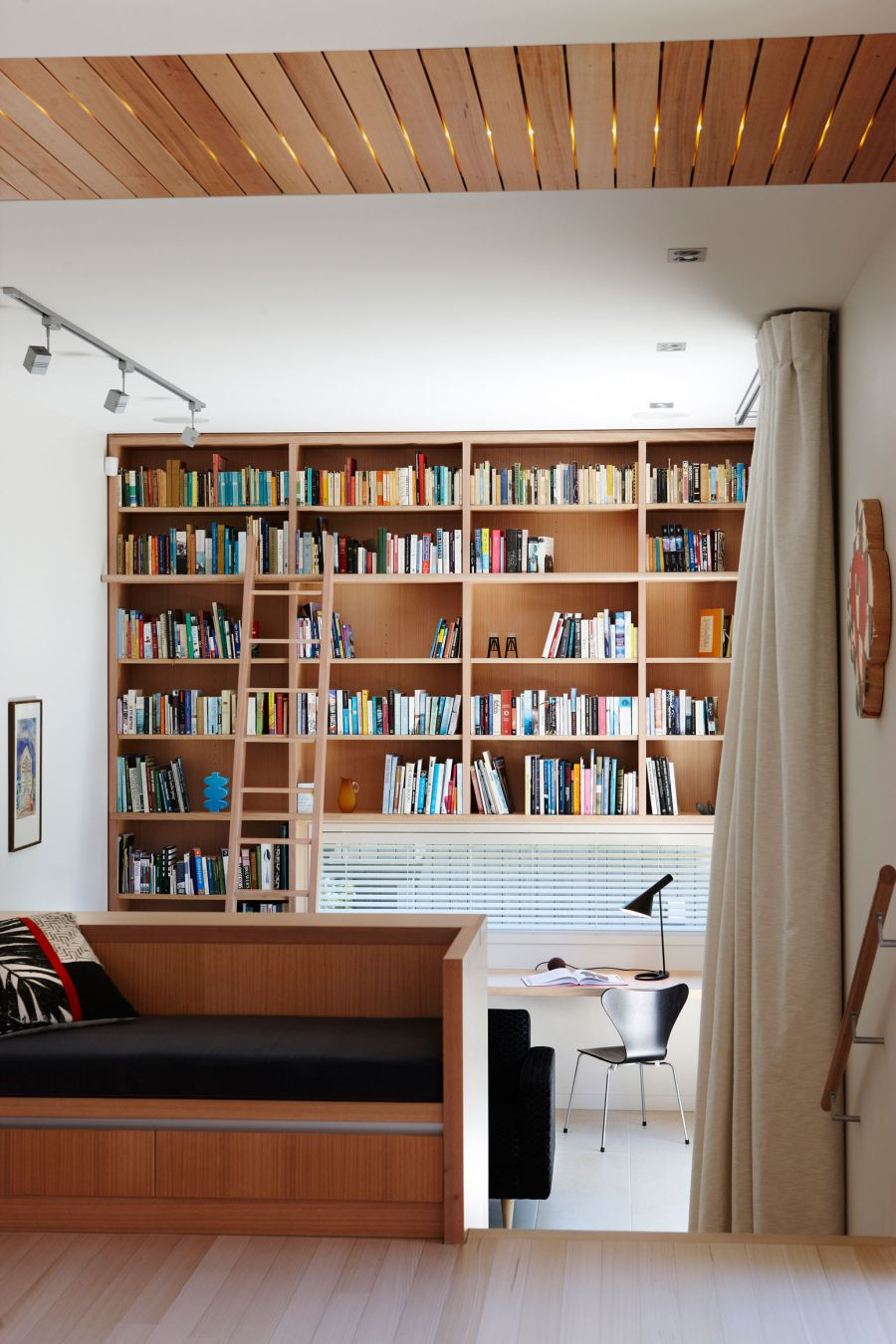 Modern Home Library Ideas: Creating A Home Library That's Smart And Pretty