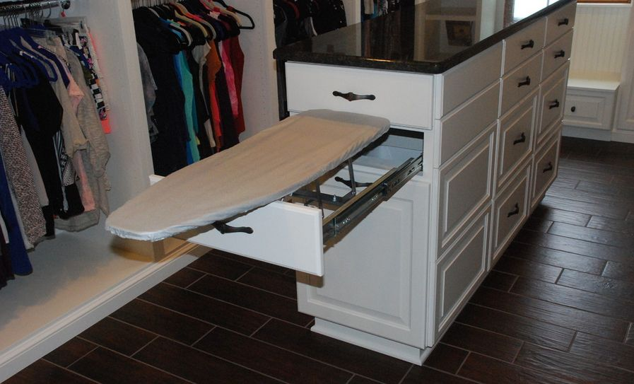 Charmant Ironing Board Cabinet Extensions For Organized Laundry Rooms