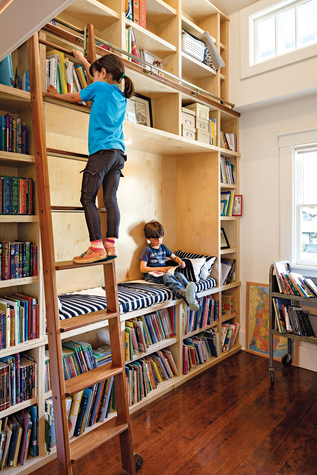 View in gallery Creating a Home Library that s Smart And Pretty
