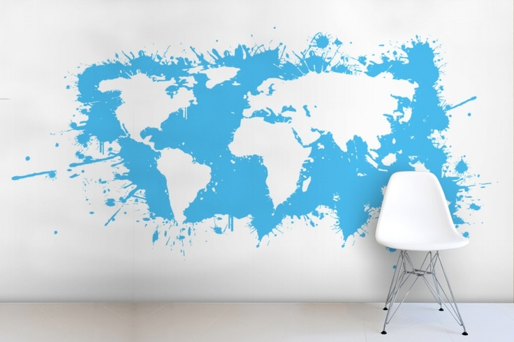 10 pieces of bold powerful and large wall art for the home map splatter gumiabroncs Images
