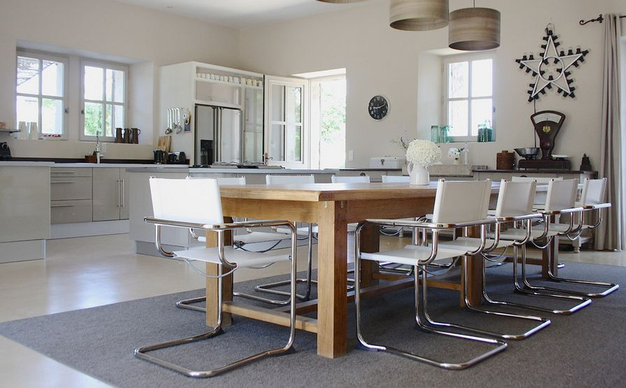 Merveilleux Industrialize Your Dining Room With Metal Dining Chairs