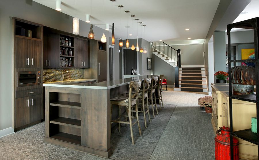 basement bar lighting. home decorating trends u2013 homedit basement bar lighting a
