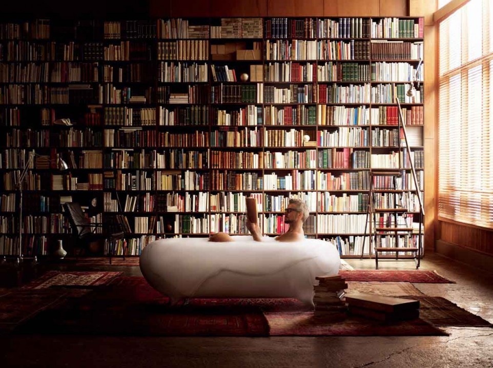 incorporate rounded architectural lines - Building A Home Library