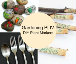 Gardening Tips Pt IV: DIY Plant Markers