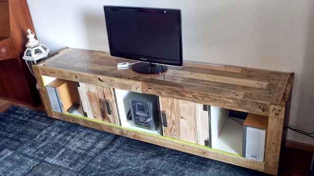 Ikea tv stand designs you can build yourself - Europaletten schrank ...