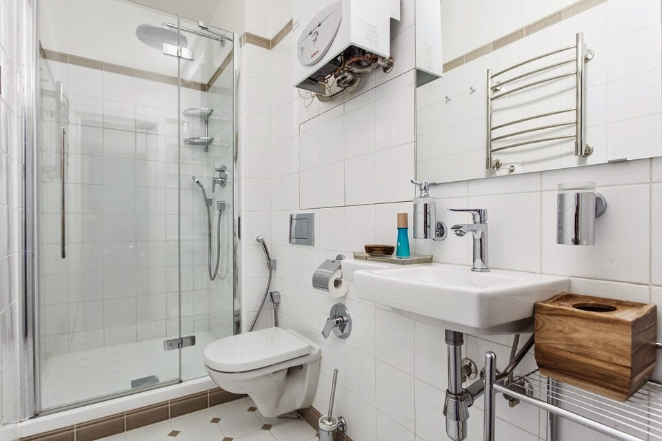 renovated studio apartment bathroom1