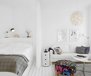 How To Decorate Around The Bed In A Small Apartment