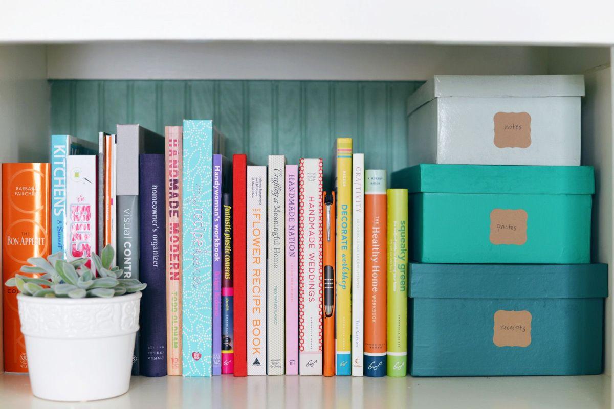 diy book storage diy embellished stacking storage boxes
