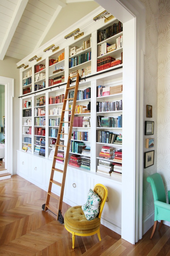 Creating A Home Library Thats Smart And Pretty - Creating home library