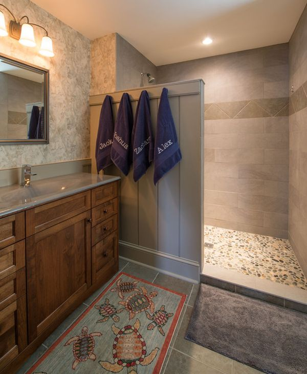 Roman shower stalls for your master bathroom Bathroom remodeling ideas shower stalls