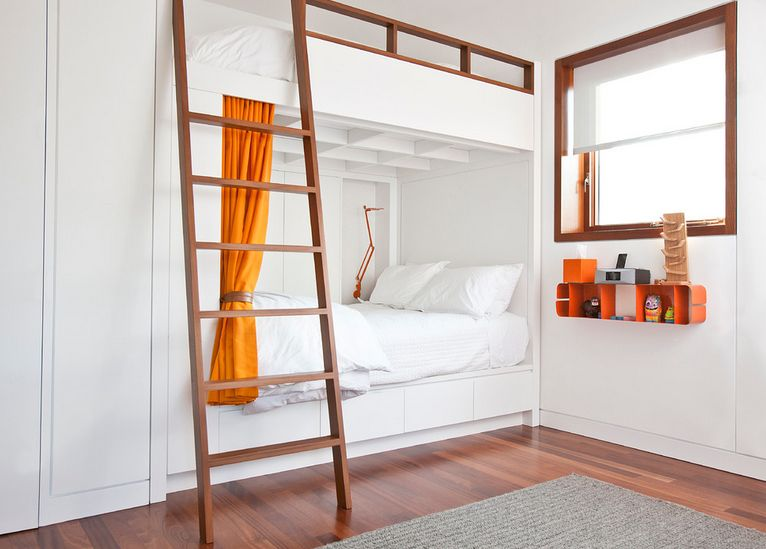 20 cool bunk beds that offer us the gift of style. Black Bedroom Furniture Sets. Home Design Ideas