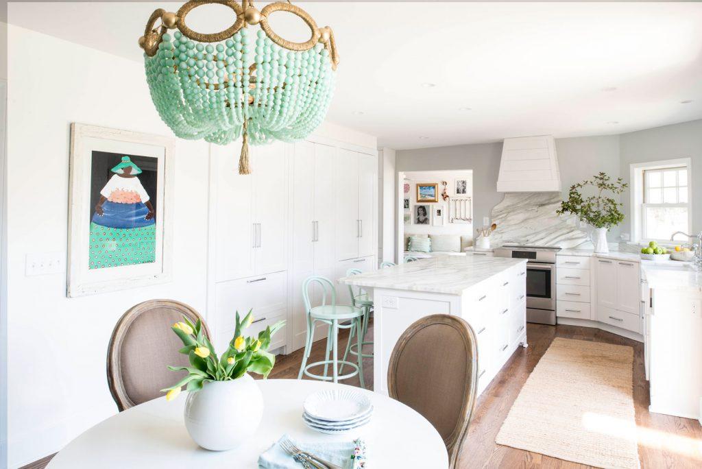 contemporary kitchen cabinets Cozy White Kitchen