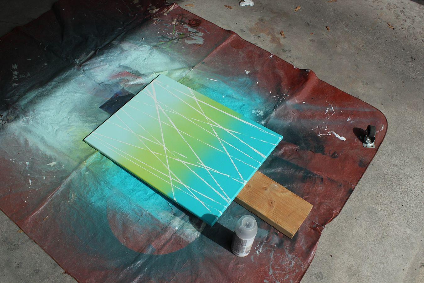 DIY Abstract Art U2013 Quick U0026 Customized Modern Artwork