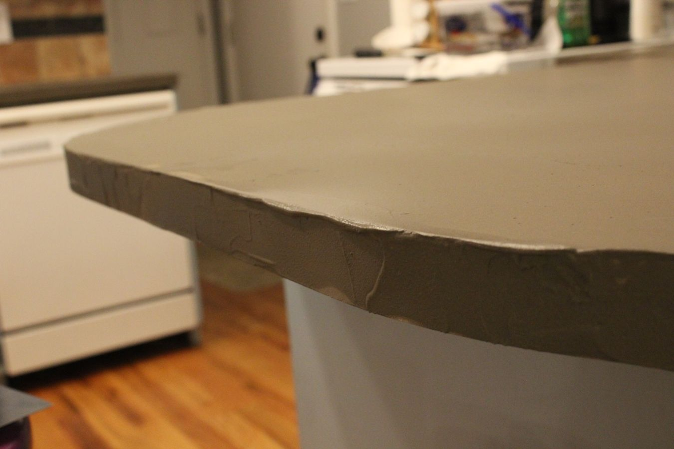 Kitchen Concrete Floor Diy