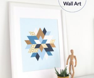 DIY Geo Wall Art
