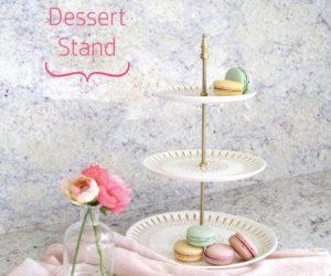 DIY Tiered Dessert Stand
