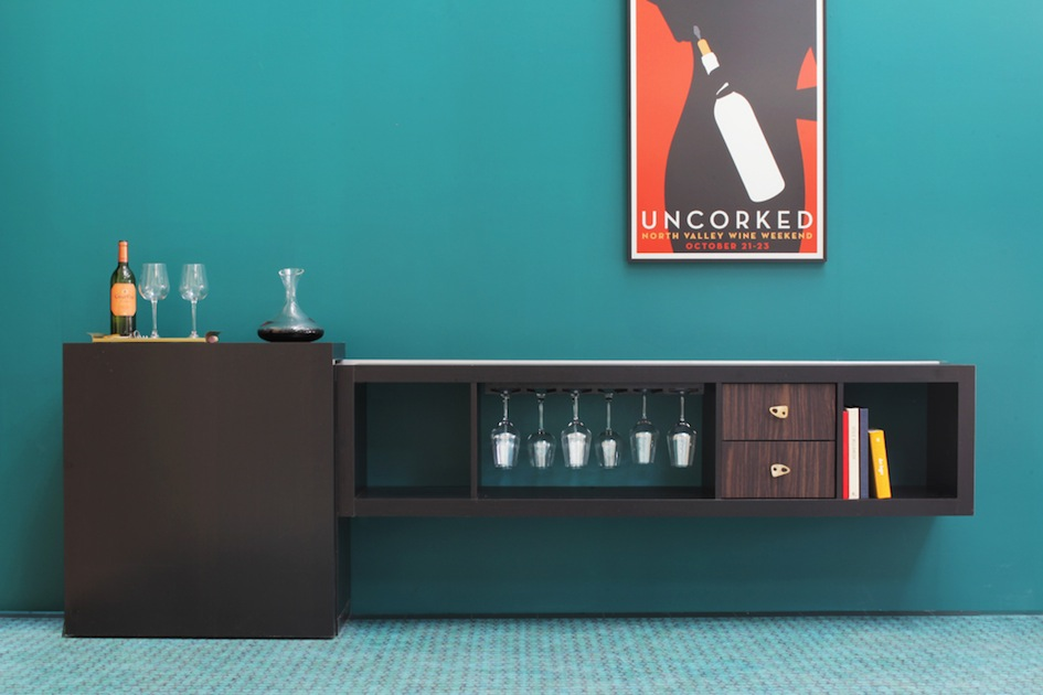Mini bar furniture for stylish entertainment areas for Mueble bar ikea