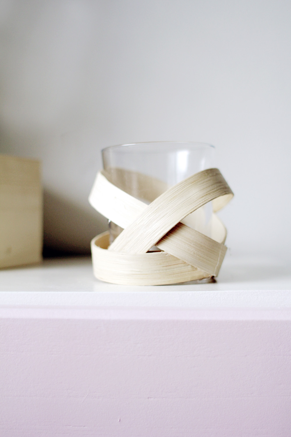 Homedit Wooden Strip Votive 10