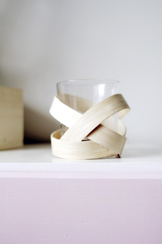 Homedit Wooden Strip Votive 10