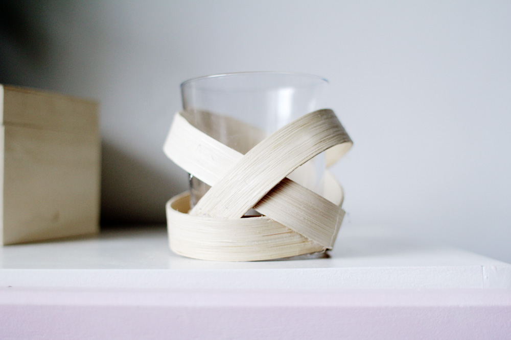 Homedit Wooden Strip Votive 11
